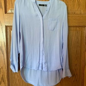 Periwinkle button up blouse